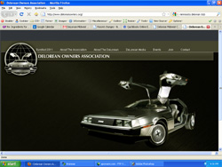 DeLorean Owners Association